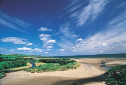 Lunan Bay in our Featured Image
